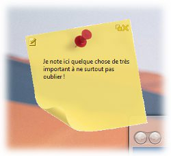 PNotes - Exemple de note