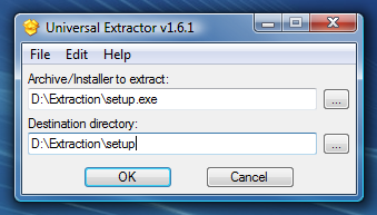 Extractor: Exe File Extractor